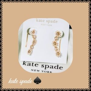 Kate Spade Loves Me Loves Me Not Earrings NWT
